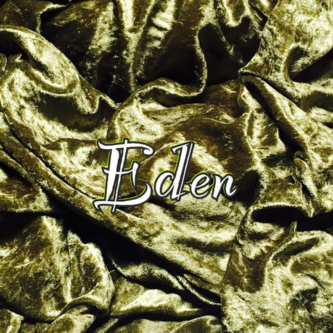 Custom Order - Luxury Crushed Velvet - Eden