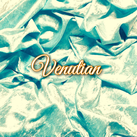 Custom Order - Luxury Crushed Velvet - Venutian