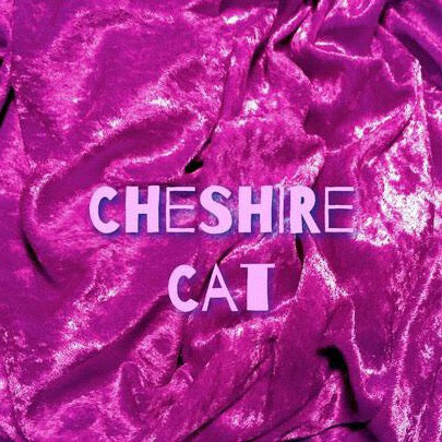 Newly Available for Custom Order! - Luxury Crushed Velvet - Cheshire Cat
