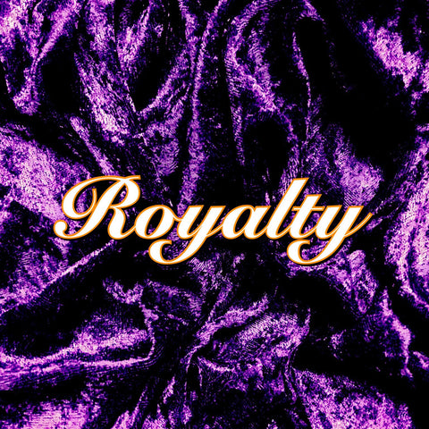 Custom Order - Luxury Crushed Velvet - Royalty
