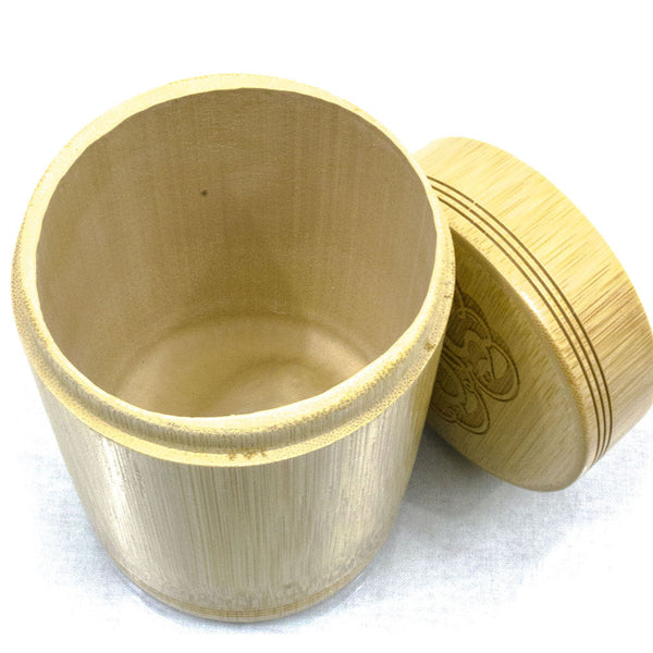 "4.5"" Bamboo Stash Container"