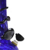 Close up of Blue and Black Water Pipe