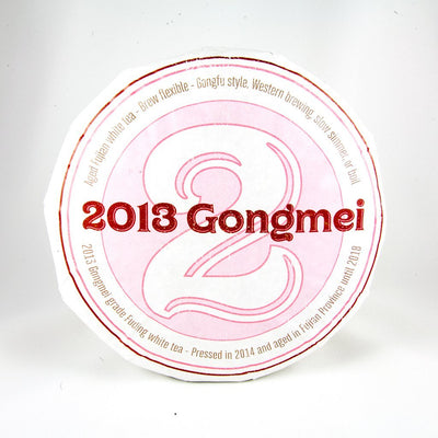 2013 Gong Mei Aged White