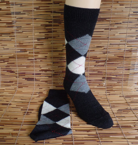 Argyle Trouser Sock SALE 40% OFF
