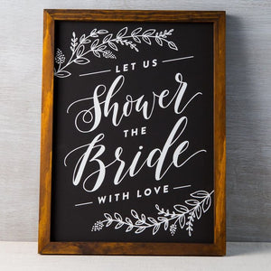 Let Us Shower The Bride