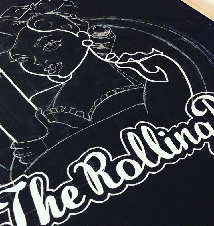The Rolling Pin - process
