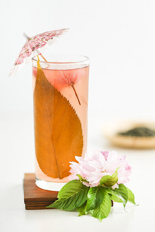 Cherry Blossom Tea Cocktails