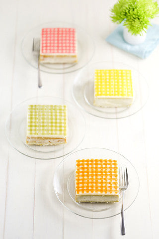 Gingham Sencha Tea Cakes