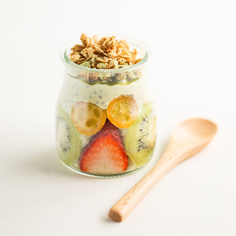 Green Tea Chia Yogurt