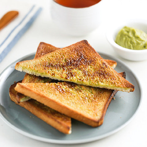 Green Tea Sugar Toast