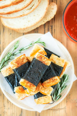 Nori Grilled Cheese Sandwiches