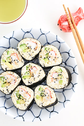Almost No-Carb Sushi