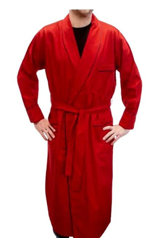 Viyella - Cotton/Wool - Shawl Collar Bathrobe - 255901