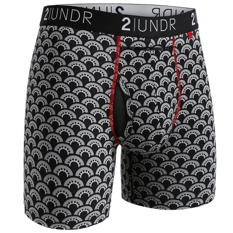 "2UNDR - 6"" Swing Shift Boxer Briefs - 2U01BB - Fan Club"