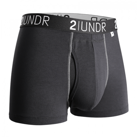 "2UNDR - 3"" Swing Shift Trunk - 2U01TR - Black/Grey"