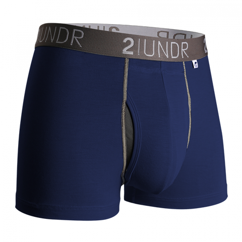 "2UNDR - 3"" Swing Shift Trunk - 2U01TR - Navy/Grey"
