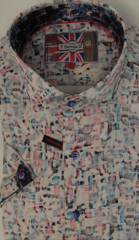 7 Downie St - Short Sleeve Shirt - 3526