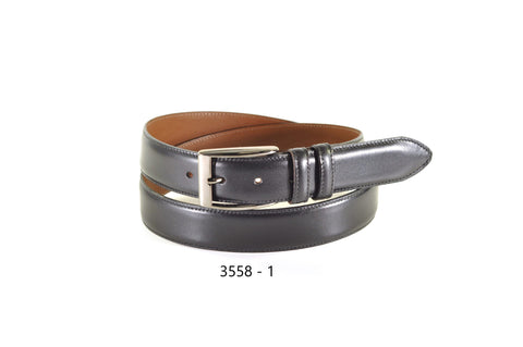 Bench Craft - Genuine Leather Dress Belt- Double Belt Holder - 35MM - 3558