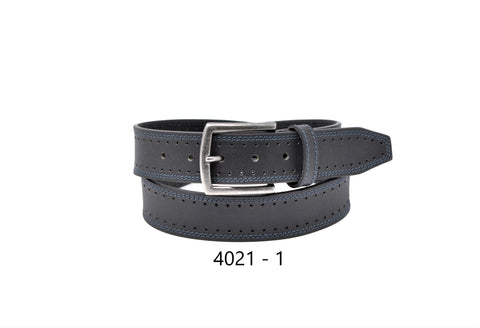 Bench Craft - Wide Brogue Casual Belt - 40MM - 4021