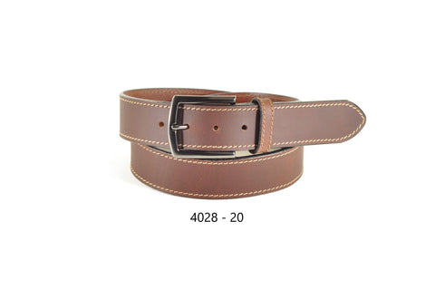 Bench Craft - Heavy Leather Casual Belt - 40MM - 4028