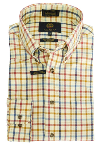 Viyella - Wool/Cotton - Long Sleeve Shirt - 455435