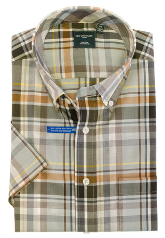 Leo Chevalier - Short Sleeve Shirt - Big and Tall - 522362/QT