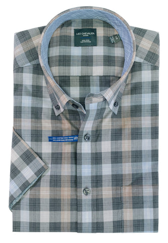 Leo Chevalier - Short Sleeve Shirt - Big and Tall - 522367/QT