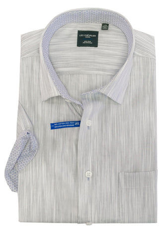 Leo Chevalier - Short Sleeve Shirt - Big and Tall - 522377/QT