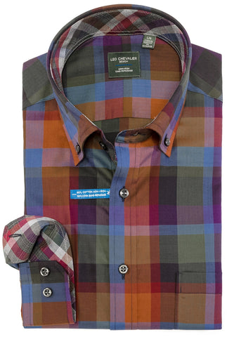 Leo Chevalier - Long Sleeve Shirt - Classic Fit -  523497 - Clearance