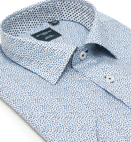 Leo Chevalier - Short Sleeve Shirt - Casual Fit - Non-iron - 524358