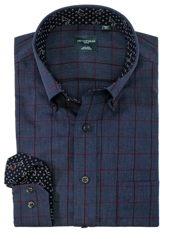 Leo Chevalier - Long Sleeve Shirt - Classic Fit - 525495