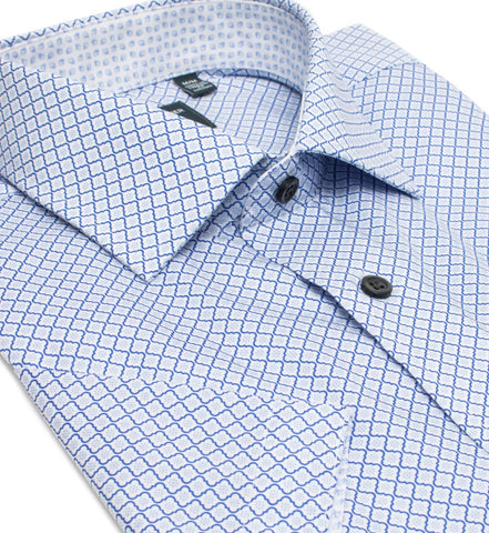 Leo Chevalier - Short Sleeve Shirt - Casual Fit - Non-iron - 526356