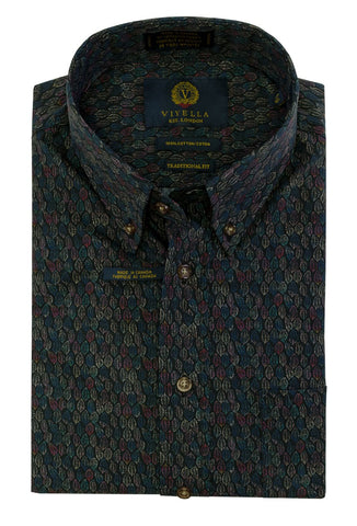 Viyella - Cotton - Long Sleeve Shirt - Classic Fit - 555442