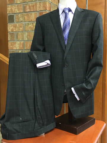 S. Cohen - High Performance SUIT SEPARATES Jacket - 7320S6S - Modern Fit - Charcoal Window Pane -