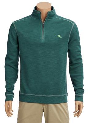Tommy Bahama - Tobago Bay Half Zip Sweater - T220818-2