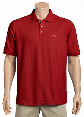 Tommy Bahama - Emfielder 2.0 Polo - Comfortable Cotton Blend - Wicking Properties - Low Maintenance - 1