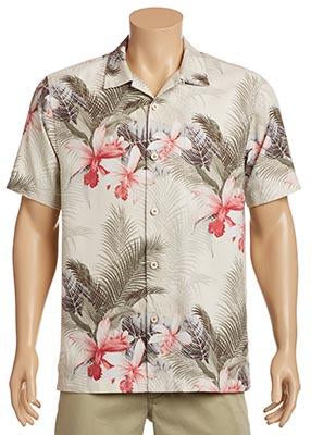 Tommy Bahama -  Silk Shirt - Shadows in Paradise - T322111 Clearance