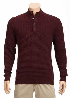 Tommy Bahama - Isidro Button Mock Sweater - T423843