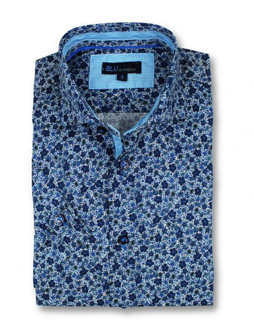 Blu - Short Sleeve Shirt - B-1945320