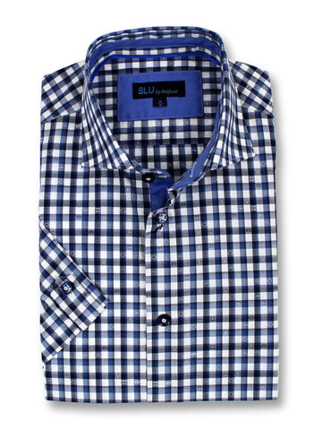 Blu - Short Sleeve Shirt - B-1945322