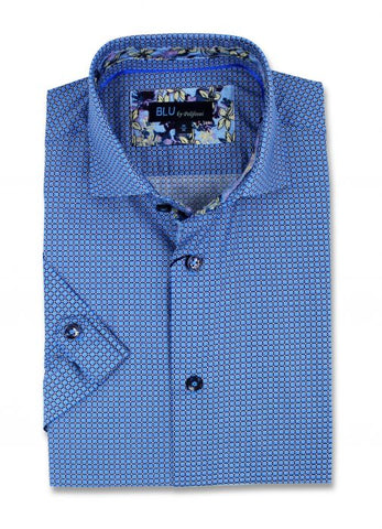 Blu - Short Sleeve Shirt - B-1947313