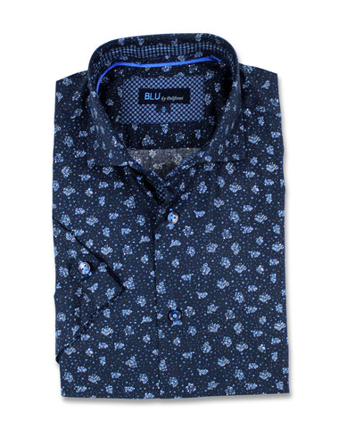 Blu - Short Sleeve Shirt - B-1947314 Clearance
