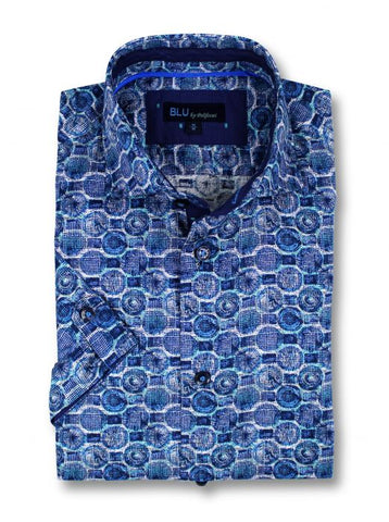 Blu - Short Sleeve Shirt - B-1947316