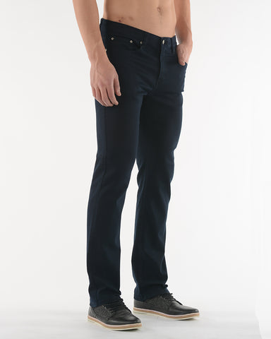 Lois - Brad Slim Stretch Twill Jeans - 1136-6240-XX - Navy, Khaki, Charcoal,Ginger