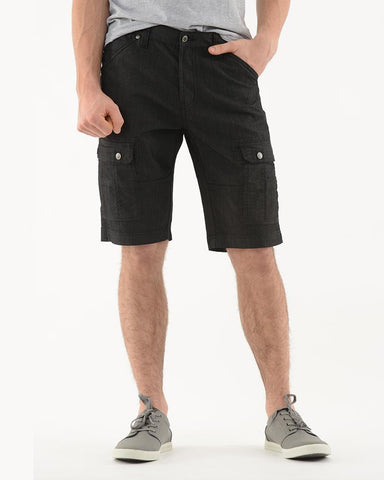 Lois - ENRIQUE - Stretch Cargo Shorts - (Black, Grey, Navy)