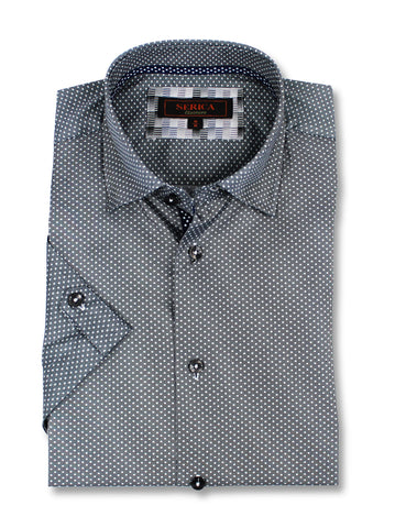 Serica - Classics - Short Sleeve Shirt - CSP-194936  Clearance