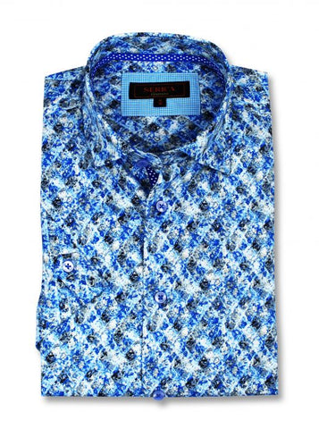 Serica - Classics - Short Sleeve Shirt - CSP-195540 Clearance