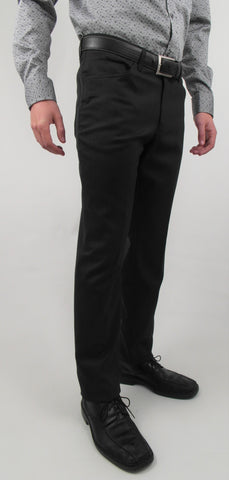 Gala - D1 - 5-Pocket Jean Style Dress Pant - Flat Front - Clearance