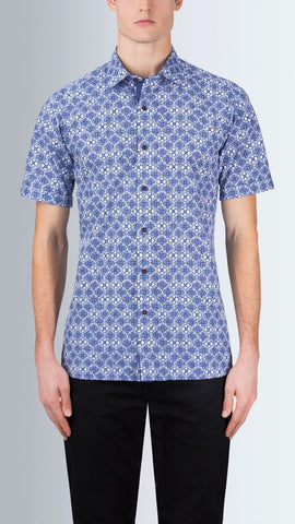 BUGATCHI - Short Sleeve Shirt - DS2056S20S Clearance