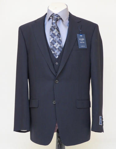 S. Cohen - Smart Suit Jacket - 4J00S2 - PSMART - Modern Fit - Navy